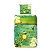 Frogs gyermek pamut ágyneműhuzat garnitúra pamutból, 140 x 200 cm - Good Morning