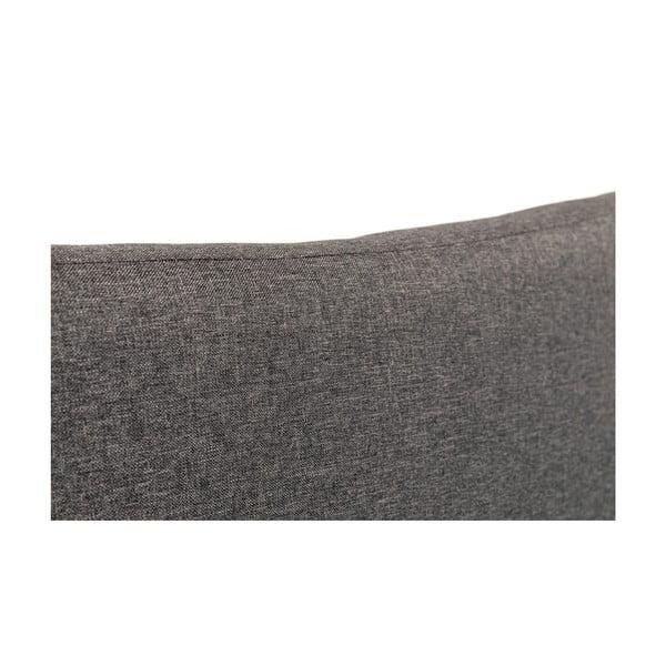 Hobro antracitszürke franciaágy, 180 x 200 cm - Chez Ro