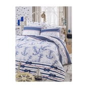 Capa pamut ágytakaró lepedővel és párnahuzattal, 200 x 235 cm