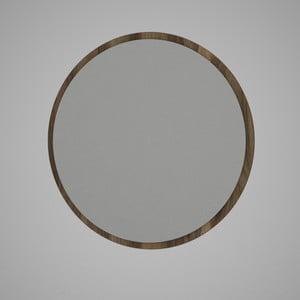 Glob kerek fali tükör barna keretben, ⌀ 59 cm
