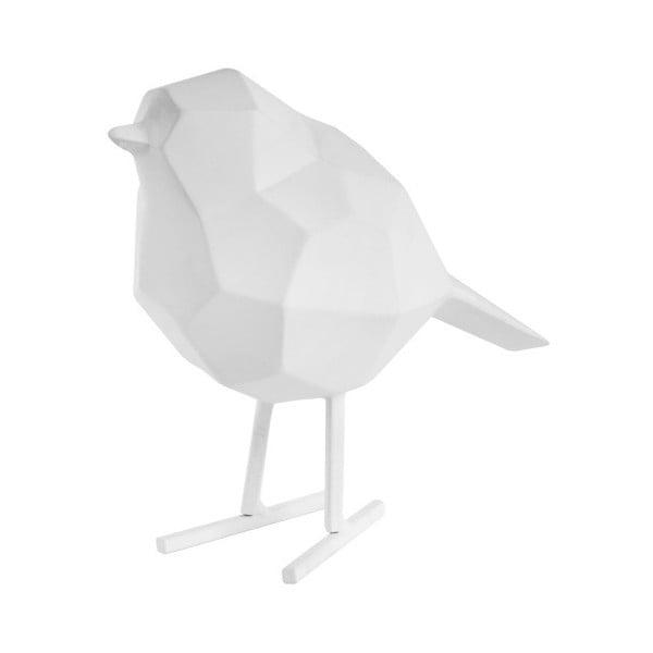Bird Small Statue fehér dekoráció - PT LIVING