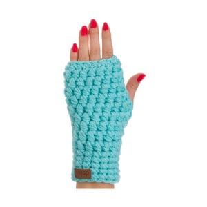 Milo türkiz kék kézzel horgolt kézmelegítő - DOKE