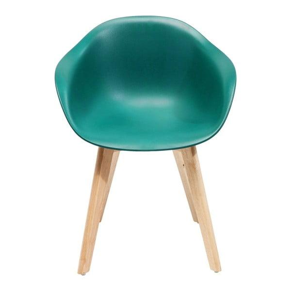Forum 4 db-os türkiz székkészlet - Kare Design