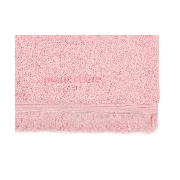 Marie Claire rózsaszín kéztörlő