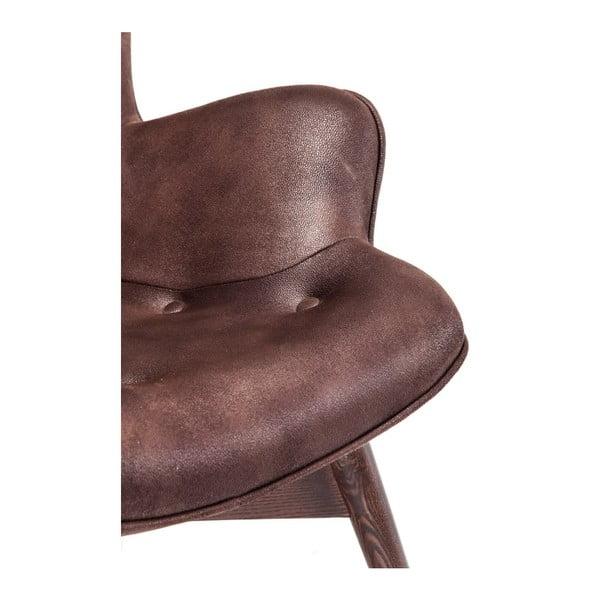 Angels Wings sötétbarna fotel - Kare Design