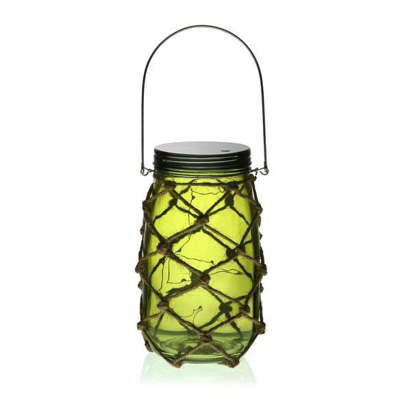 Bottle zöld LED lámpás - Versa