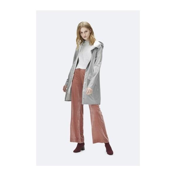 Long Jacket szürke uniszex kabát nagy vízállósággal, méret: M / L - Rains