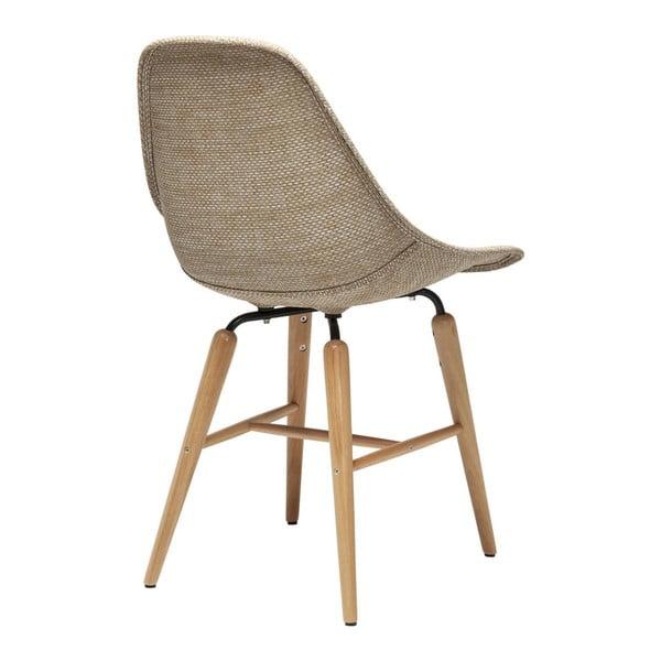 Forum Wood 4 db-os bézs étkezőszék készlet - Kare Design