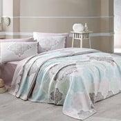 Andalucia könnyű kétszemélyes ágytakaró két párnahuzattal, 200 x 230 cm