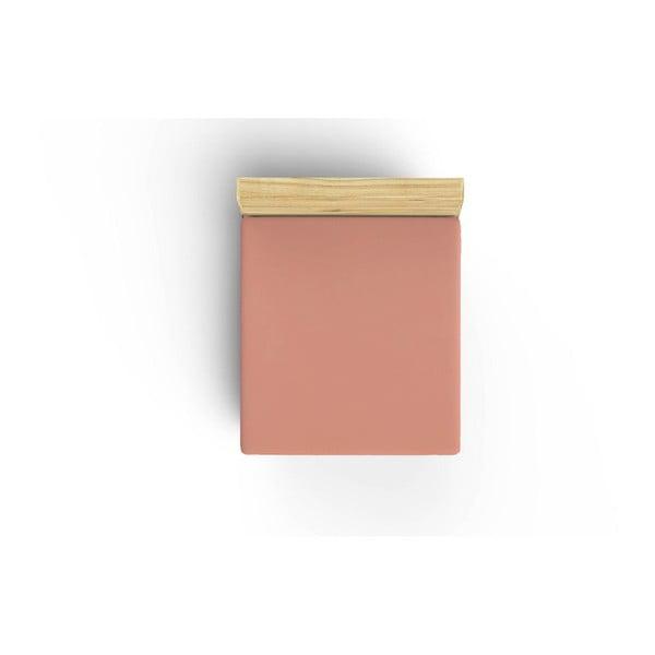 Peach pamut lepedő, 160 x 200 cm