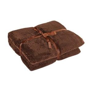 Henry barna mikroszálas takaró, 150 x 200 cm - DecoKing