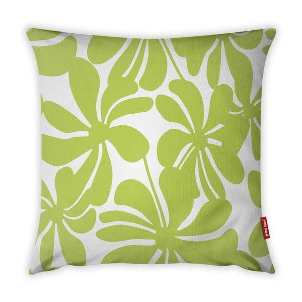 Jungle Paradiso lime zöld-fehér párnahuzat, 43 x 43 cm - Vitaus