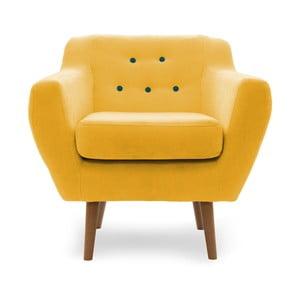 Kelly sárga fotel - Vivonita
