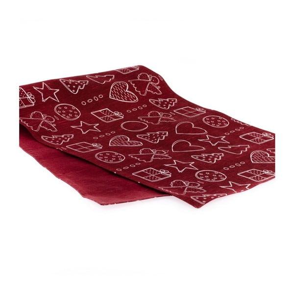 Piros asztali futó - Dakls
