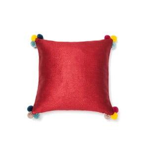 Pom Pom piros párna, 40 x 40 cm - Casa Di Bassi