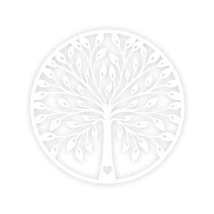 Tree fehér fali dekor