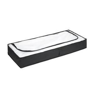 Ágy alatti fekete tároló, 105x45cm - Wenko
