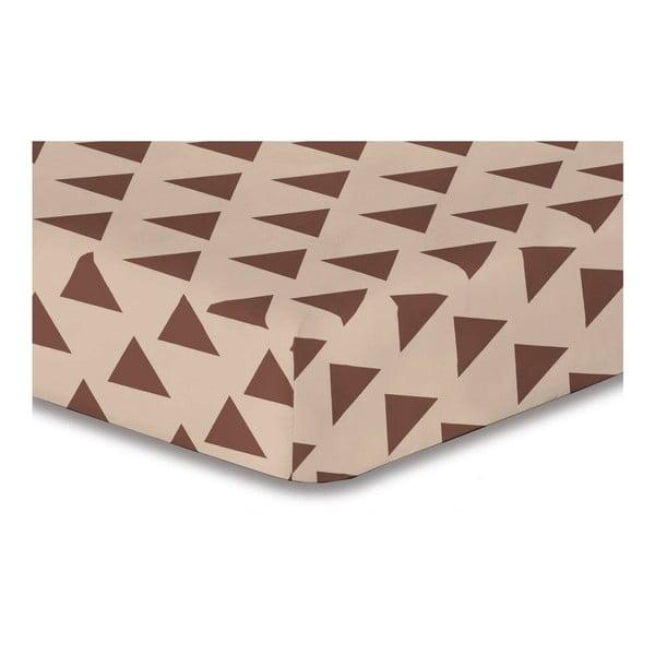 Hypnosis Triangles Alma mikroszálas lepedő, 180 x 200 cm - DecoKing