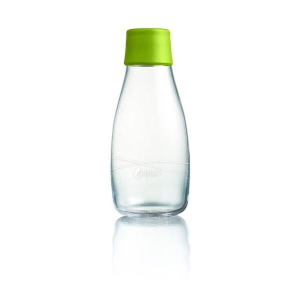Zöld üvegpalack élettartam garanciával, 300 ml - ReTap
