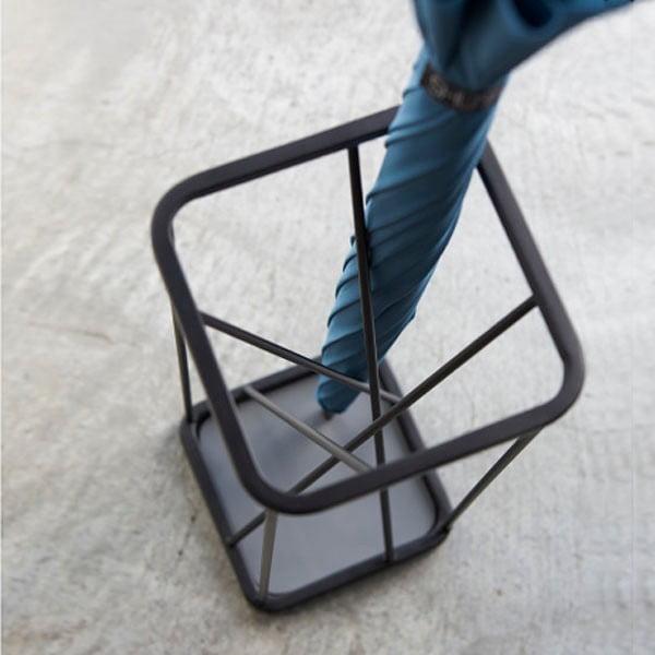 Fekete esernyőtartó - YAMAZAKI