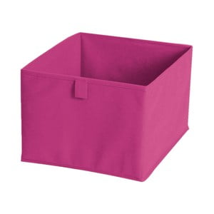 Rózsaszín textil tárolódoboz, 30 x 30 cm - JOCCA