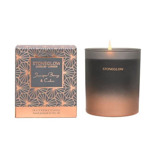 Gyertya boróka és cédrus illattal - Stoneglow