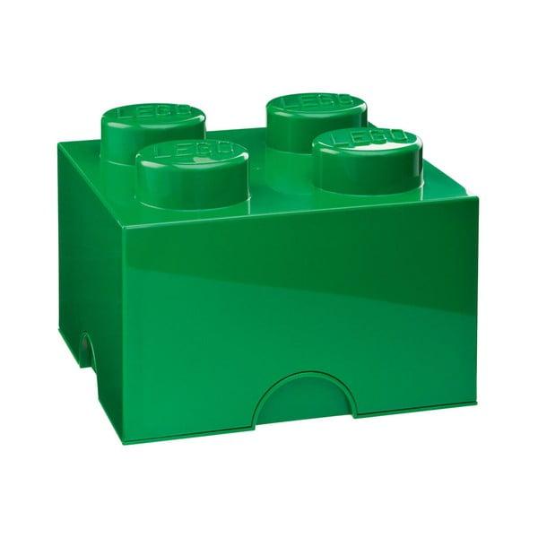 Zöld négyszögletes tárolódoboz - LEGO®