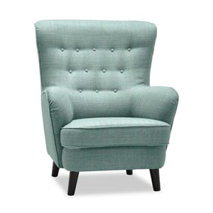 Fifties világos türkiz színű füles fotel - Vivonita
