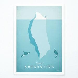 Antarctica plakát, A3 - Travelposter