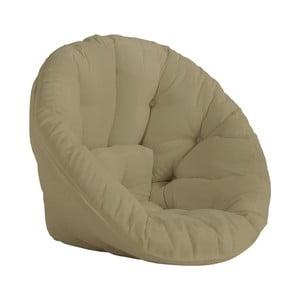 Design OUT™ Nido Beige kinyitható bézs fotel, kültéri használatra - Karup Design