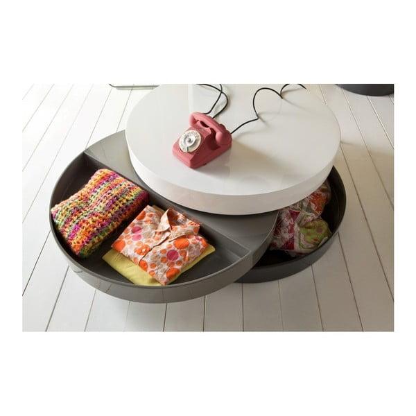 Sardara többszintes dohányzóasztal, tárolóhellyel - Design Twist