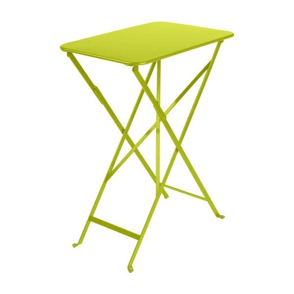 Bistro világoszöld kerti asztal, 37 x 57 cm - Fermob