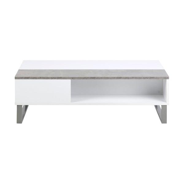 Azalea fehér-szürke dohányzóasztal - Actona