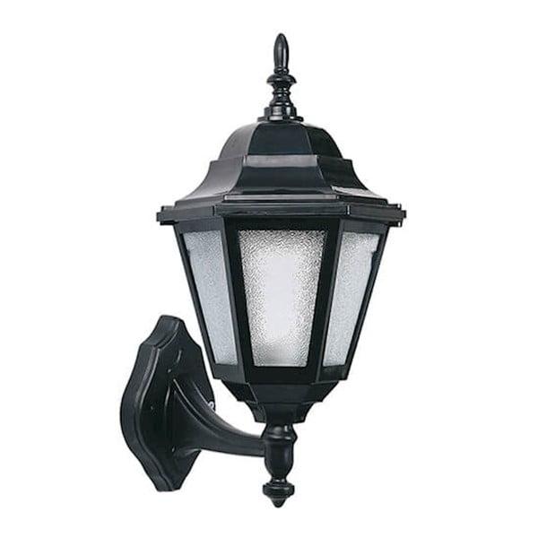 Lora fekete kültéri fali lámpa