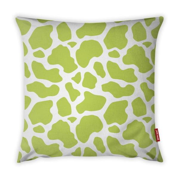 Animal Print lime zöld-fehér párnahuzat, 43 x 43 cm - Vitaus