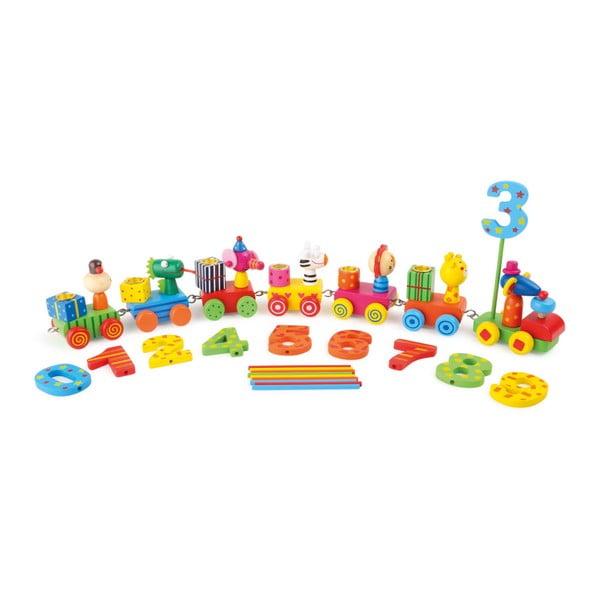 Animal Party szülinapos játékkészlet állatkákkal - Legler