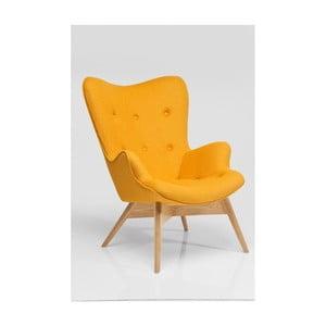 Angels Wings sárga fotel - Kare Design