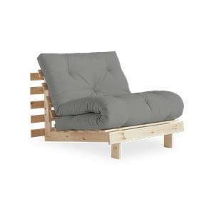 Roots Raw/Grey variálható fotel - Karup Design