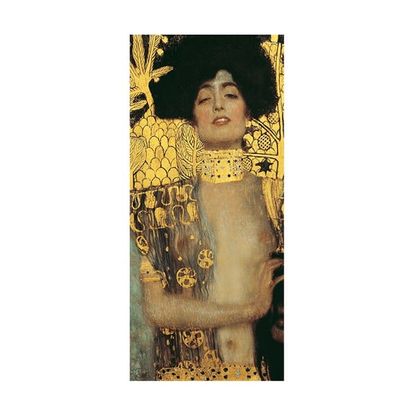 Gustav Klimt - Judith kép másolat, 70 x 30 cm
