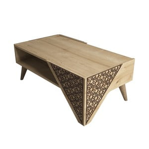 Beril Oak dohányzóasztal, szélesség 105 cm