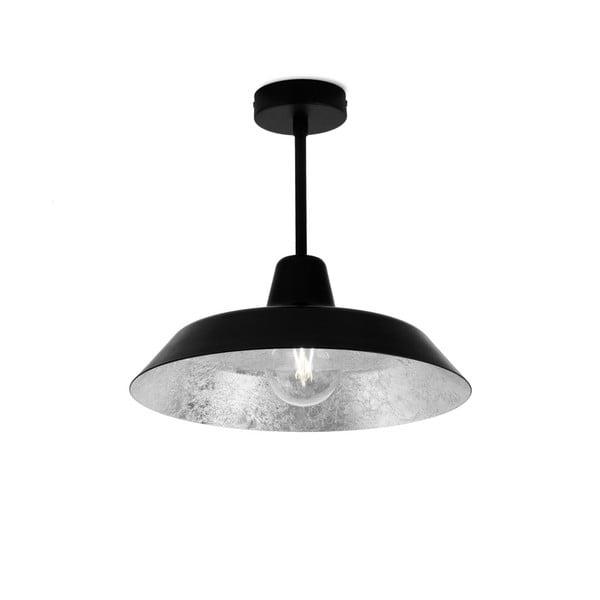 Cinco Basic mennyezeti lámpa fekete és ezüstszínben - Bulb Attack