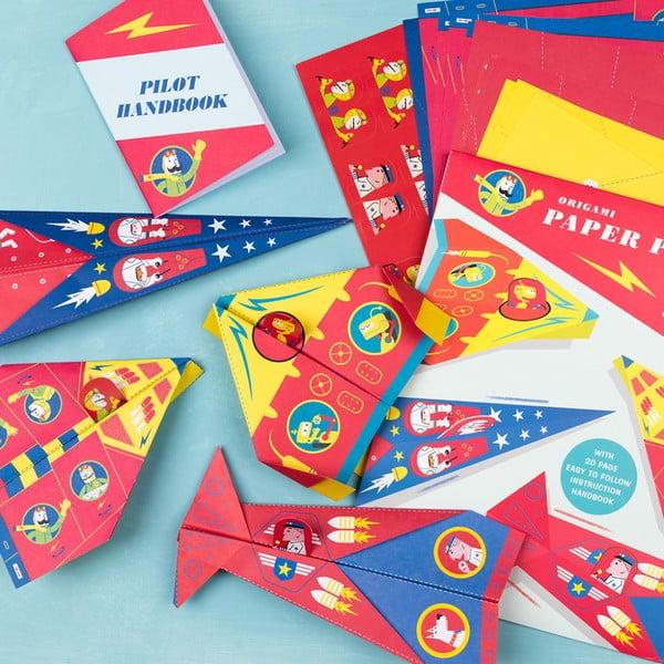 Origami papír repülőforma - Rex London