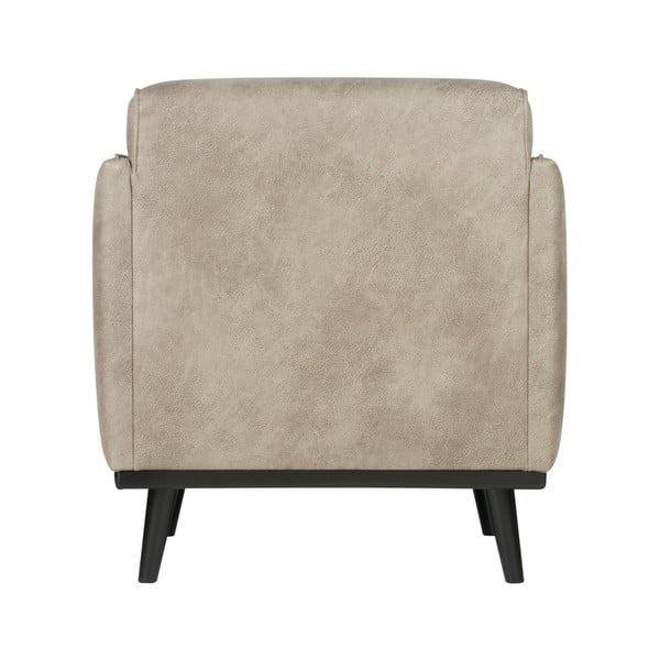 Velvet világosszürke fotel - BePureHome