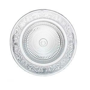 Romance köralakú üvegtál, ⌀ 18 cm - Unimasa