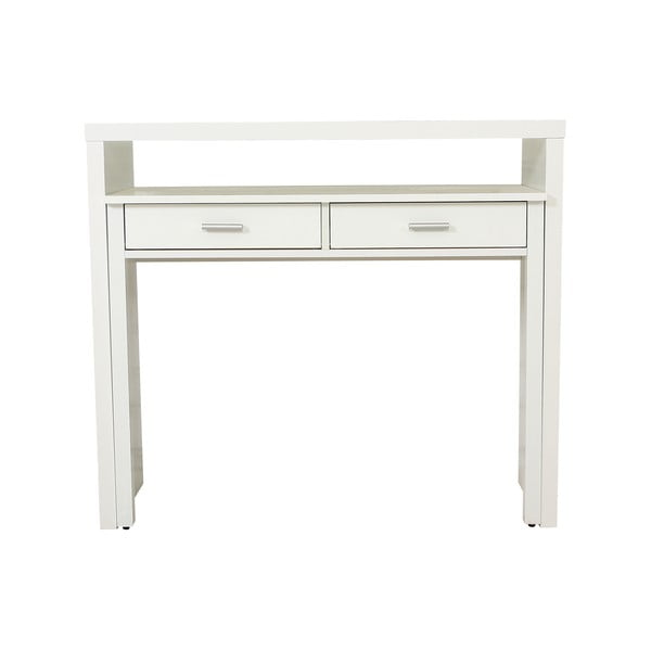 Desk fehér íróasztal/konzolasztal - Woodman