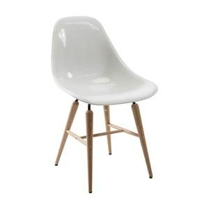 Forum Wood fehér étkezőszék, 4 db - Kare Design