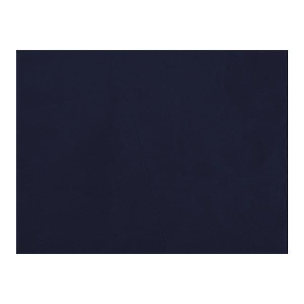 Henri sötétkék háromszemélyes kanapé ágyneműtartóval - Melart