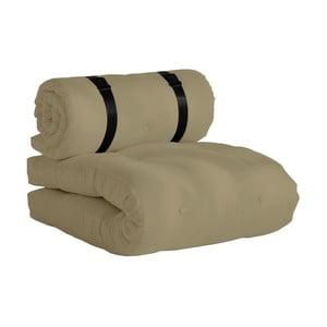 Buckle Up variálható bézs futon, kültéri használatra - Karup