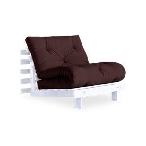 Roots White/Brown variálható fotel - Karup Design