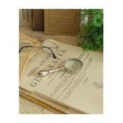 Ezüst nagyító olvasáshoz - Orchidea Milano Classic